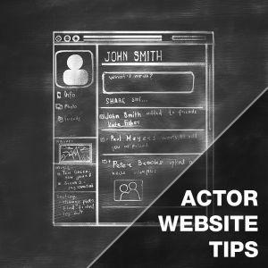Web For Actors - Actor Websites