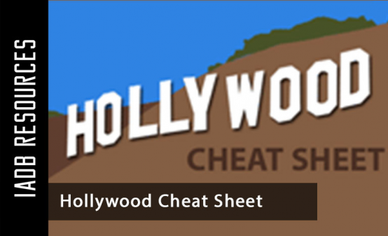 Blogs & Advice in Online - Hollywood Cheat Sheet