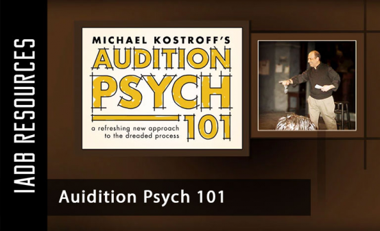 Audition Psych 101 is a four-hour workshop for actors that deals with the mental side of...