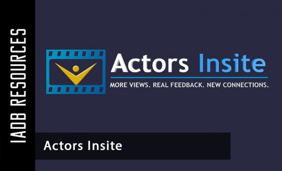 Tools in Online - Actors Insite