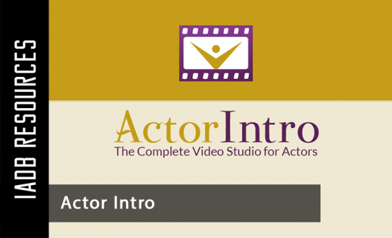 ActorIntro brings you every video service the professional actor needs, all in one...