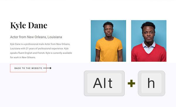 Alternative Way to See Headshots