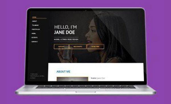 announcements,actor websites,templates